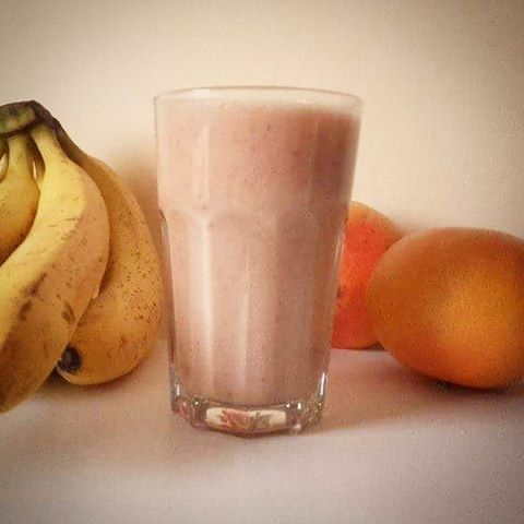 Banan i grejpfrut Smoothie pierwsza klasa  banana and grapefruithellip